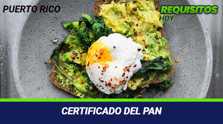 Certificado del PAN