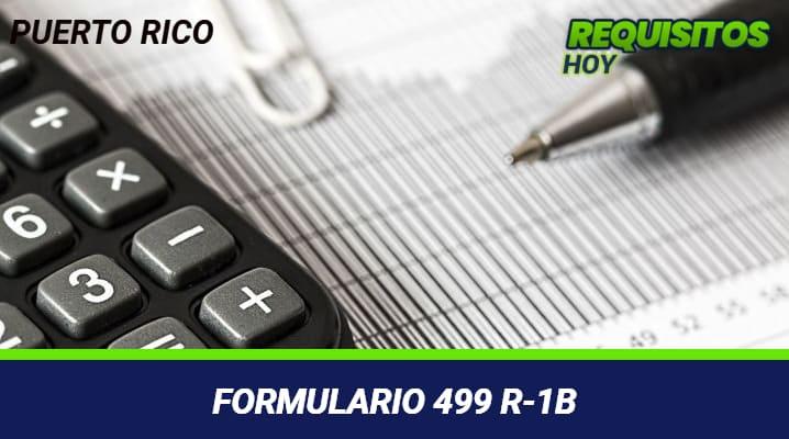 Formulario 499 R-1b