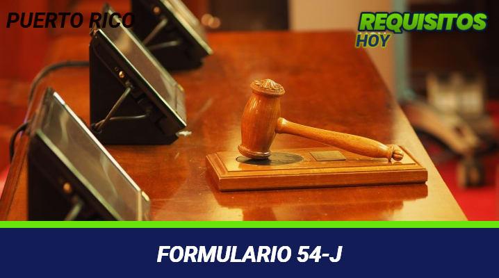 Formulario 54-j