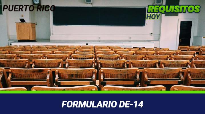 Formulario DE-14