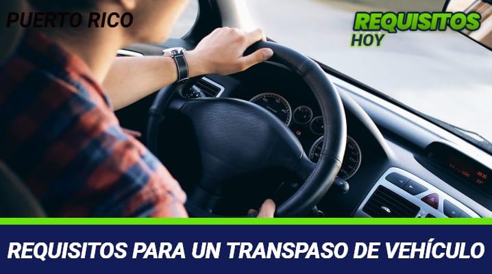 Requisitos para un traspaso de vehículo