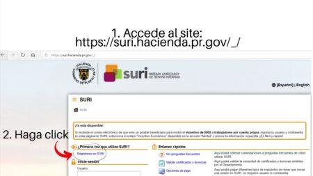 certificado de no deuda hacienda sitio web