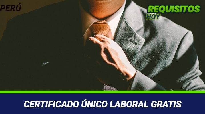 Certificado Único Laboral