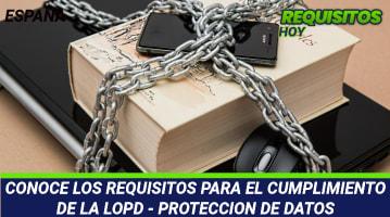 Requisitos para el cumplimiento de la LOPD