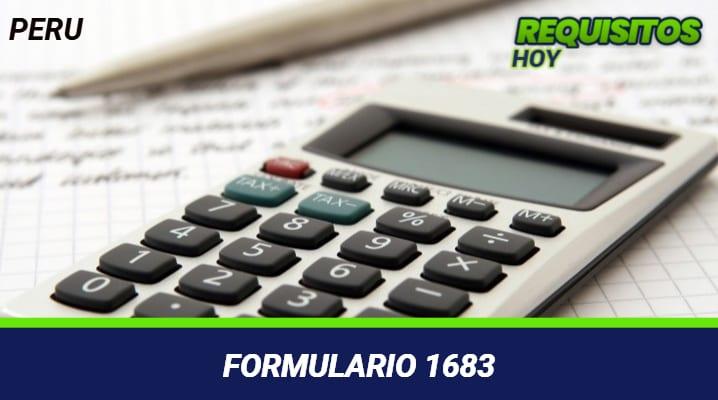 Formulario 1683