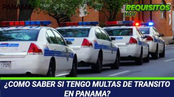 Como saber si tengo multas de tránsito en Panamá