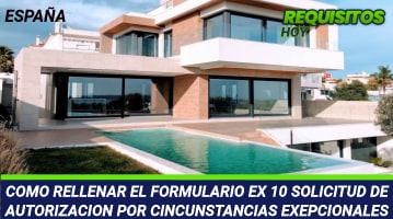 Formulario EX 10