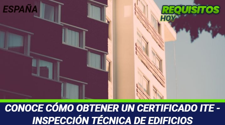 Certificado ITE