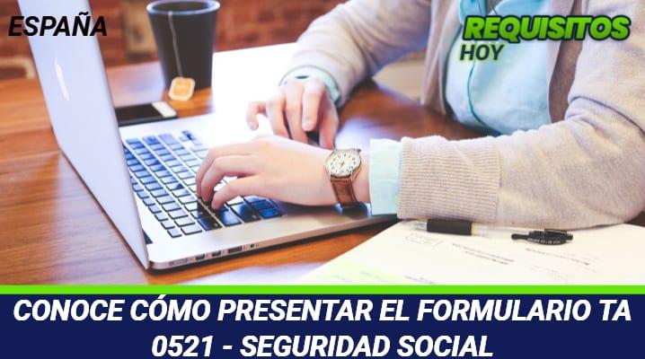 Formulario TA 0521