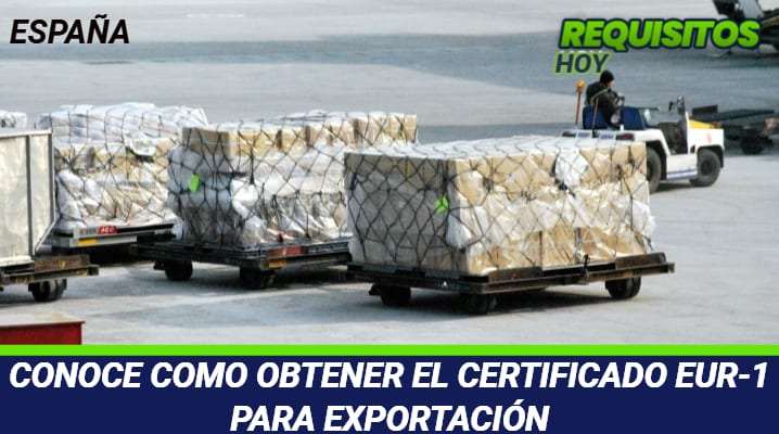 Certificado EUR-1