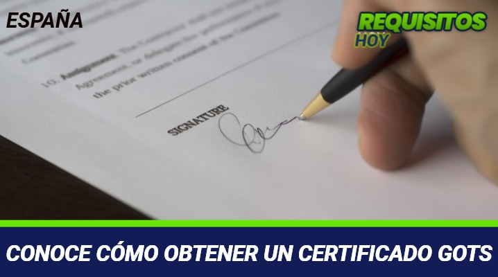 Certificado GOTS