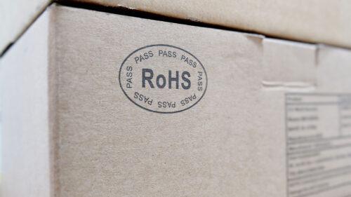 Certificado RoHs cierre