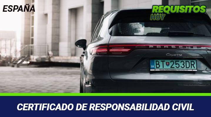 Certificado de Responsabilidad Civil