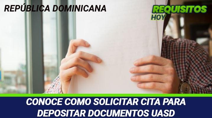 Cita para Depositar Documentos UASD