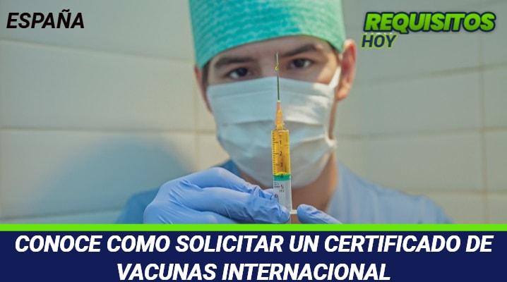 Certificado de Vacunas