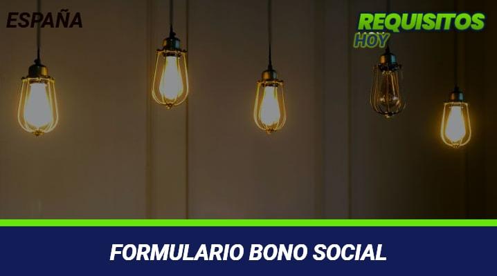 Formulario Bono Social