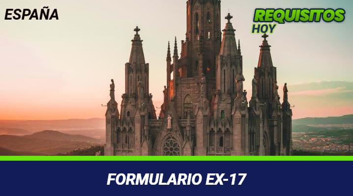 Formulario EX-17