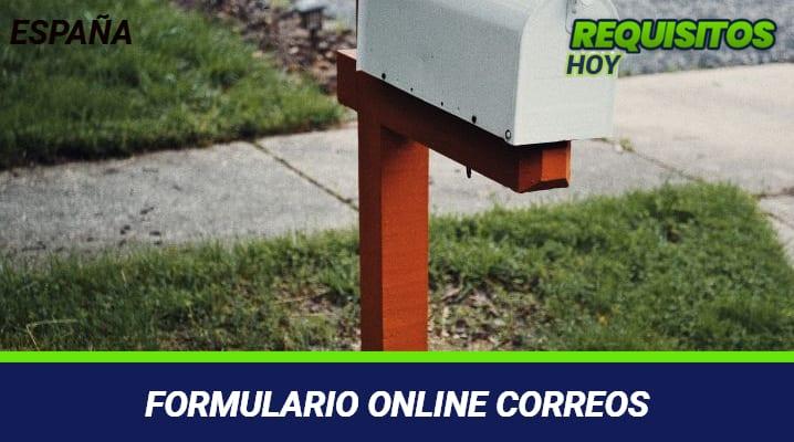 Formulario Online Correos