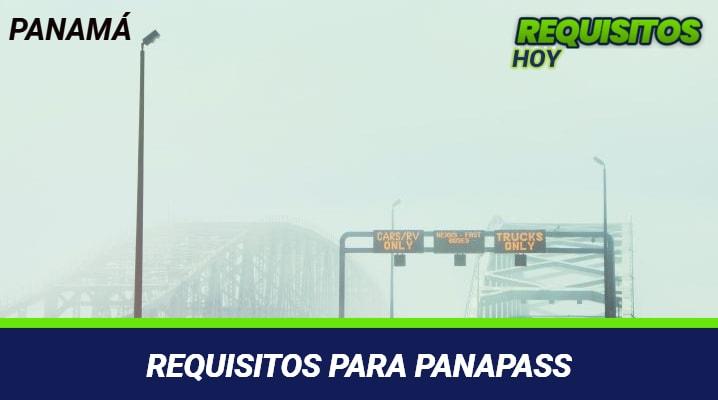 Requisitos para Panapass