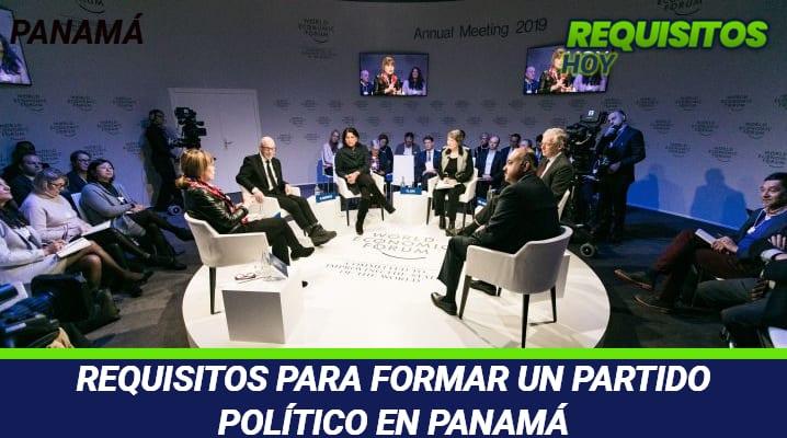 Requisitos para formar un Partido Político en Panamá