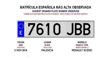 matricula española