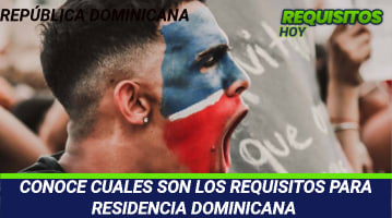 Requisitos para residencia dominicana