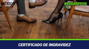 Certificado de Ingravidez