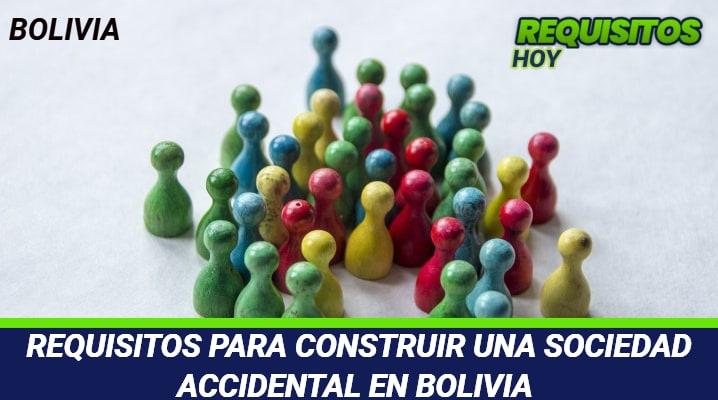 Requisitos para Constituir una Sociedad Accidental en Bolivia