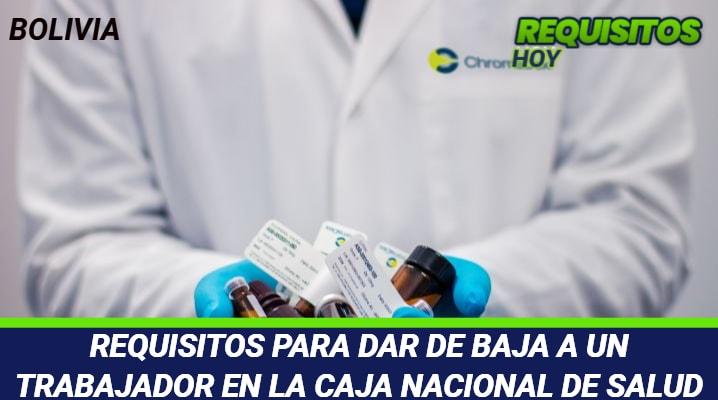 Requisitos para dar de Baja a un Trabajador en la Caja Nacional de Salud
