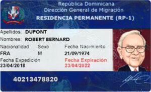 Residencia dominicana intro