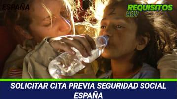 SOLICITAR CITA PREVIA SEGURIDAD SOCIAL ESPAÑA