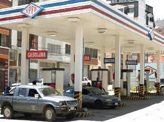abrir gasolinera bolivia