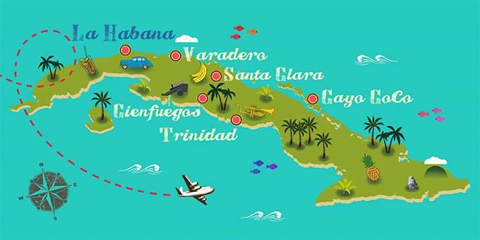 requisitos viajar a cuba desde bolivia