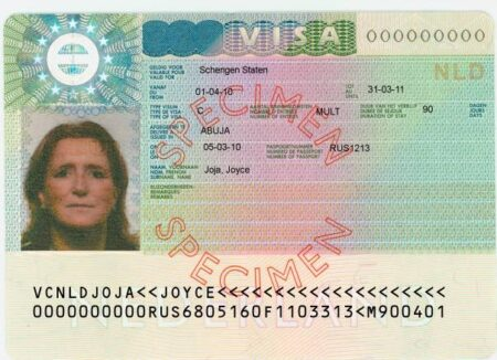 visado Schengen