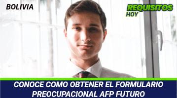 Formulario Preocupacional AFP Futuro