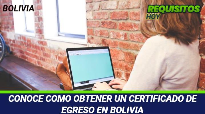 Certificado de Egreso