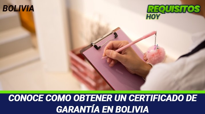 Certificado de Empadronamiento Bolivia