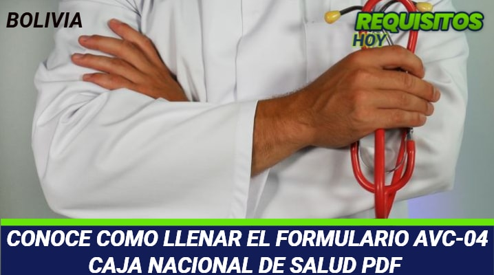 Formulario Avc-04 Caja Nacional de Salud PDF