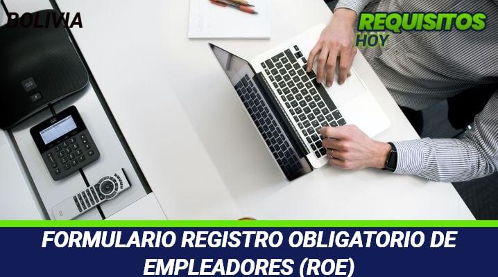 Formulario Registro Obligatorio de Empleadores (ROE)