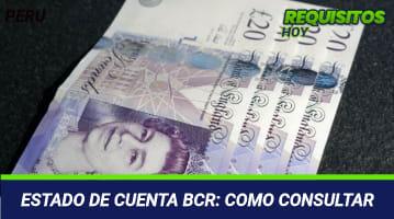 ESTADO DE CUENTA BCR: COMO CONSULTAR