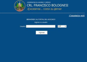 que es Estado de cuenta cooperativa bolognesi