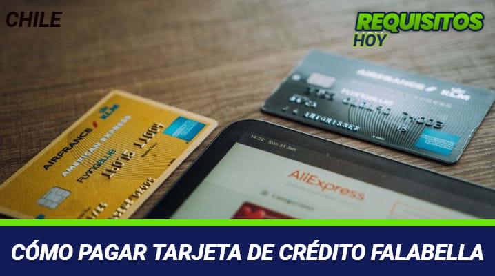 Cómo pagar Tarjeta de Crédito Falabella