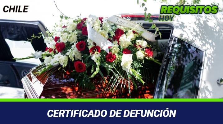 CERTIFICADO DE DEFUNCIO