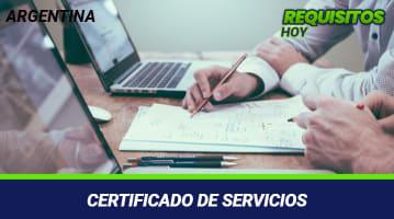 Obtén el Certificado de Servicios y Remuneraciones