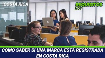 Como saber si una marca está registrada en Costa Rica