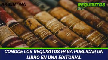 Requisitos para publicar un libro en una editorial
