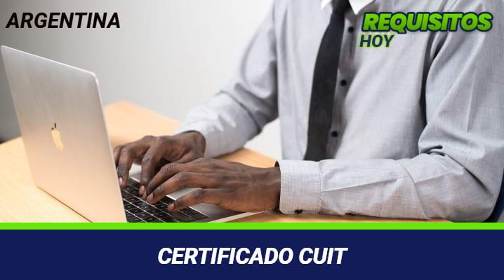 Certificado CUIT
