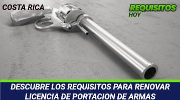 DESCUBRE LOS REQUISITOS PARA RENOVAR LICENCIA DE PORTACION DE ARMAS