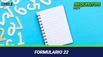 Formulario 22