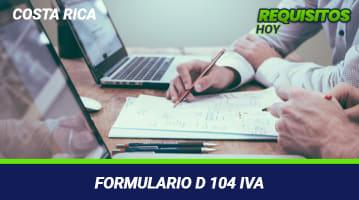 Formulario D 104 IVA